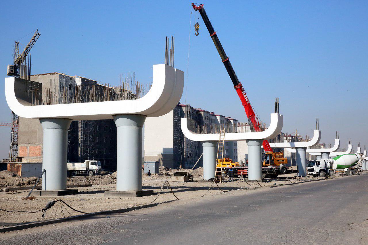 В связи со строительством наземного метро в Ташкенте закроют несколько улиц