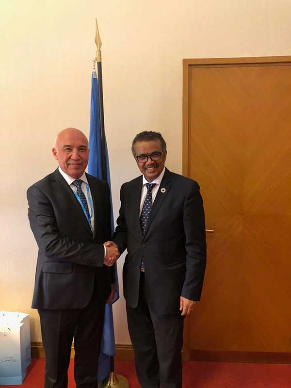 Глава Всемирной организации здравоохранения посетит Узбекистан
