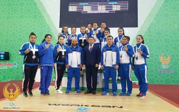 Тяжелоатлеты заняли первое место на чемпионате Азии