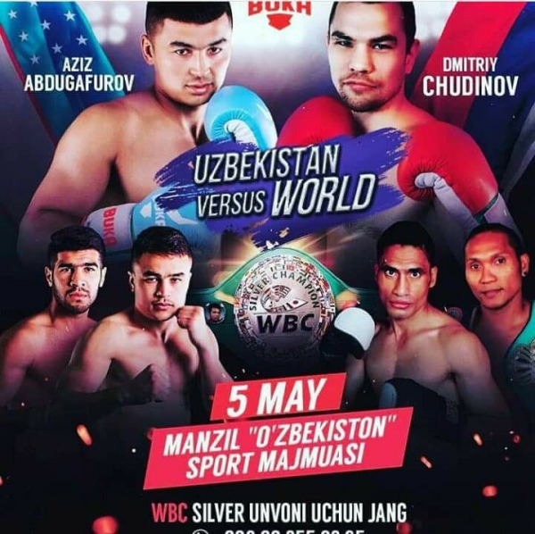 Боксеры из 4 стран выступят против узбекистанцев на вечере профессионального бокса в Ташкенте