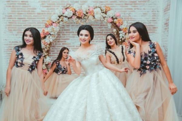 Свадебный Look ДЛЯ ПОДРУЖЕК НЕВЕСТЫ от Je' Taime