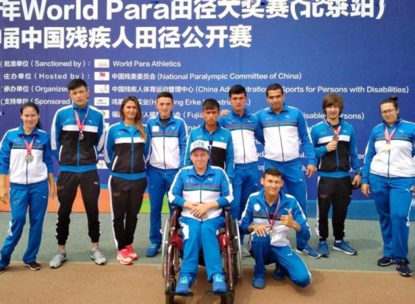 Параатлеты привезли из Пекина шесть медалей