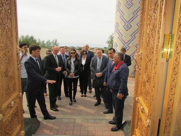Дни Челябинской области проходят в Самарканде