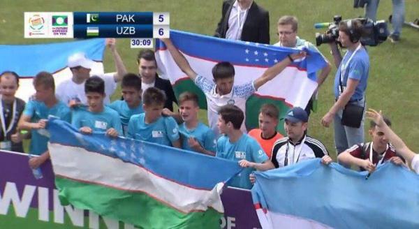 Узбекистанские футболисты стали чемпионами мирового первенства среди воспитанников детских домов