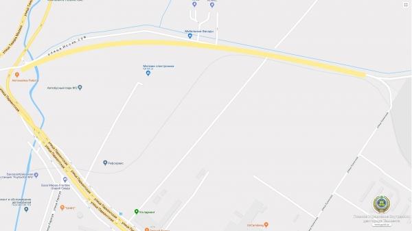 17 мая полдня будет перекрыта улица Иссиксув в Яшнабадском районе