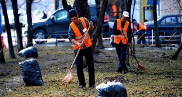 Общественными работами станут заниматься осужденные