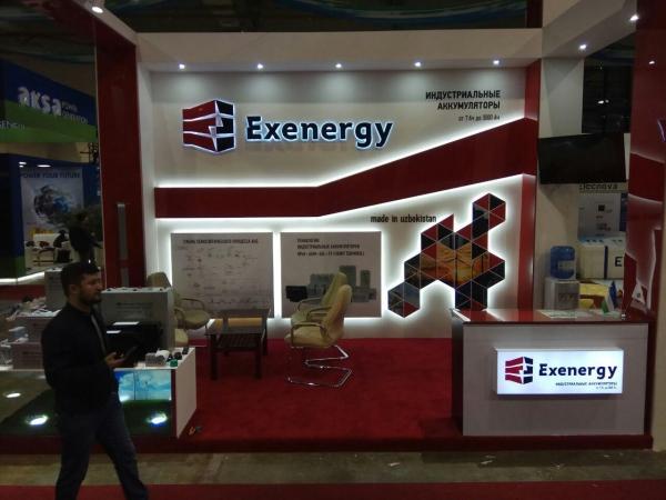 Промышленные аккумуляторы «EXENERGY» представлены как национальный бренд