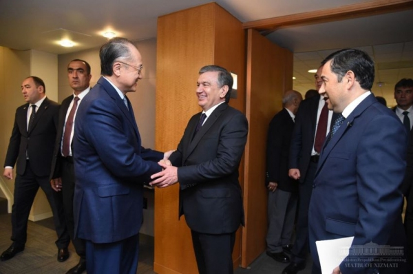 Всемирный банк реализует в Узбекистане 27 проектов на 4 миллиарда долларов