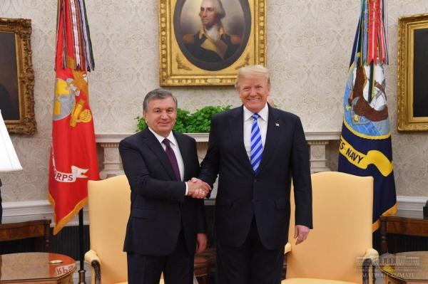 Опубликован видеоролик о визите Президента в США