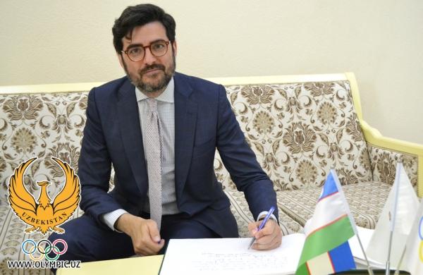 Менеджеры Real Madrid прибыли в Ташкент, чтобы обсудить создание детской футбольной школы