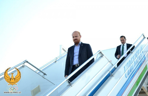 Сын президента Турции Билал Эрдоган приехал в Самарканд на турнир по стрельбе из лука