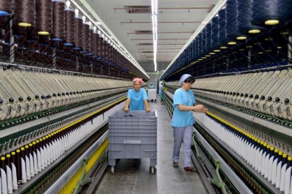 Хлопчатобумажная пряжа по-прежнему  остается главным экспортным товаром узбекского текстиля