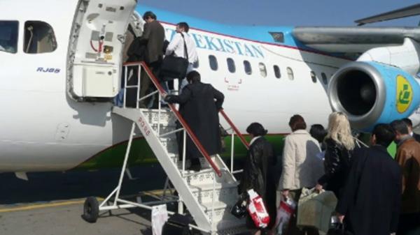 Из-за пыльной бури два самолета «Узбекистон хаво йуллари» не смогли приземлиться в Ургенче