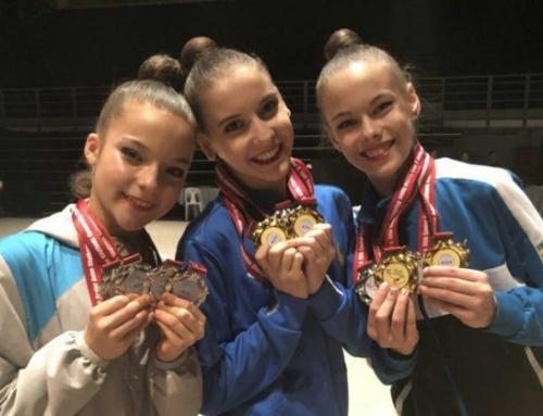 Гимнастки привезли с чемпионата Азии 14 медалей и лицензию на юношескую Олимпиаду