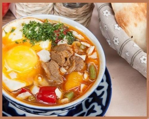 По вкусу этот суп - нектар, я предлагаю вам «Мампар» !