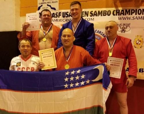 Самбисты привезли из США восемь медалей