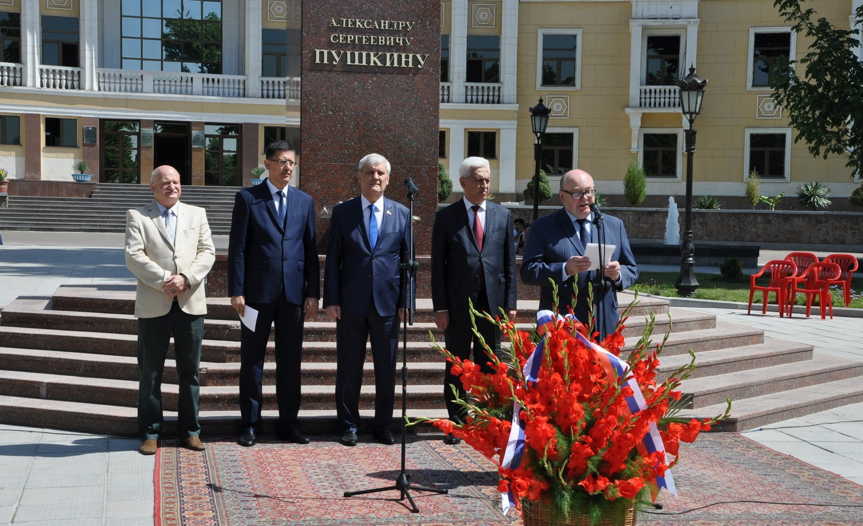 День рождения Александра Пушкина отметили в Ташкенте