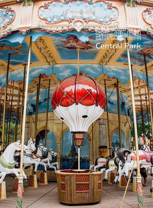 Парижский шик: в ташкентском парке установлена первая французская карусель