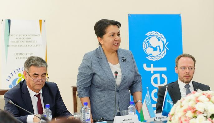 В Ташкенте презентована программа по совершенствованию образования социальных работников
