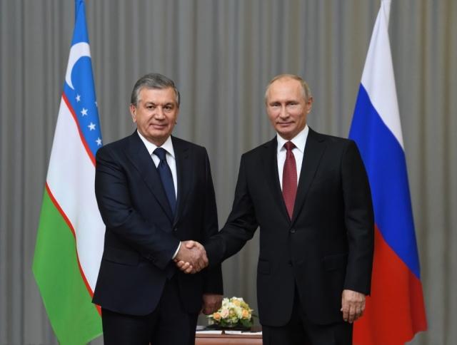 Шавкат Мирзиёев поздравил Владимира Путина с Днем России