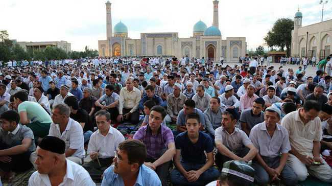 Объявлено время праздничного намаза в Ташкенте