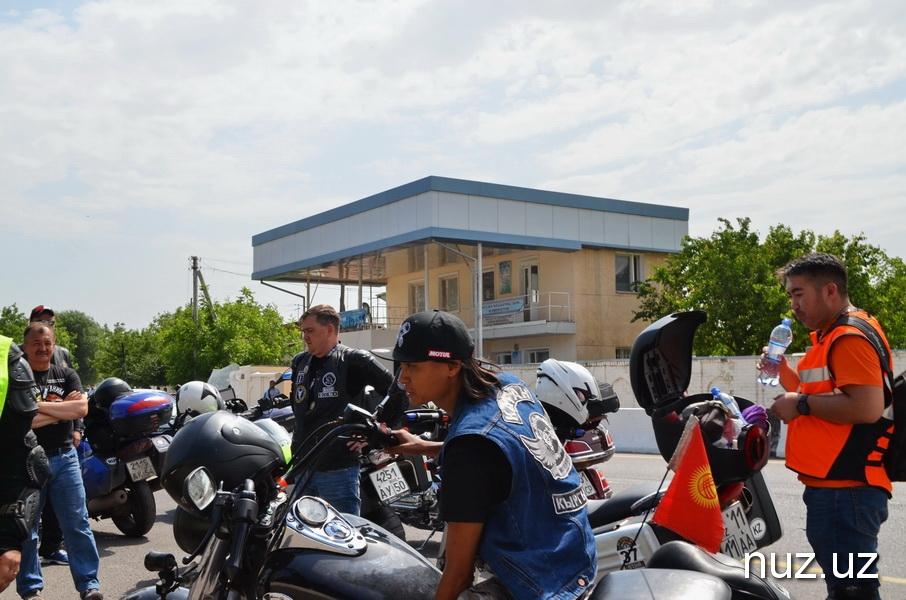Узбекские мотоциклисты приняли участие в международном мотопробеге «Путь кочевника»