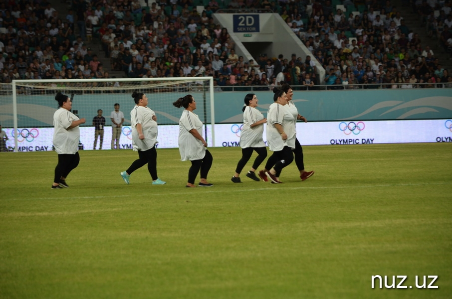 В Ташкенте отметили 70-летие Международного Олимпийского дня