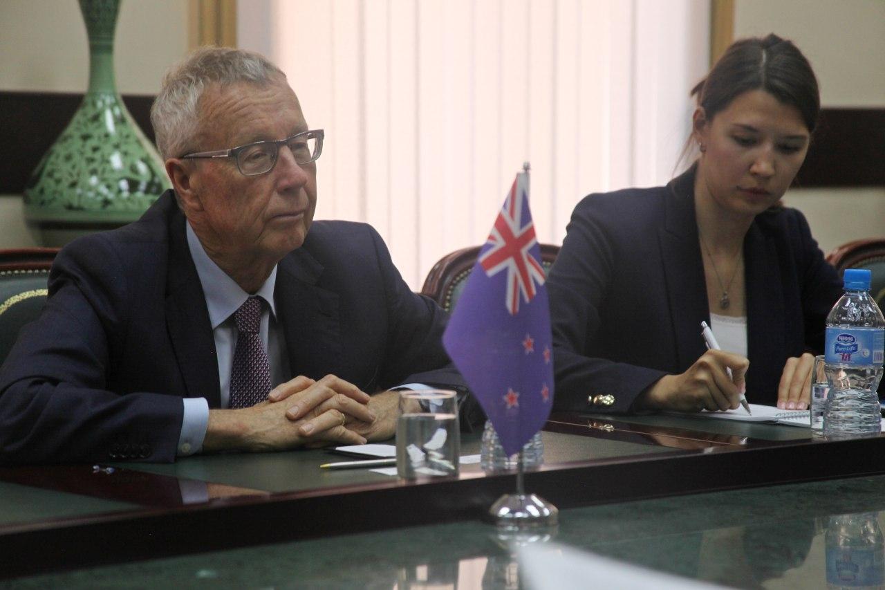 Новая Зеландия рассматривает направления сотрудничества с Узбекистаном