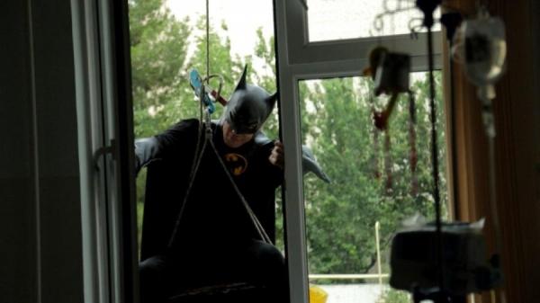 Супергерои поздравили маленьких пациентов онкогематологии с Днем защиты детей