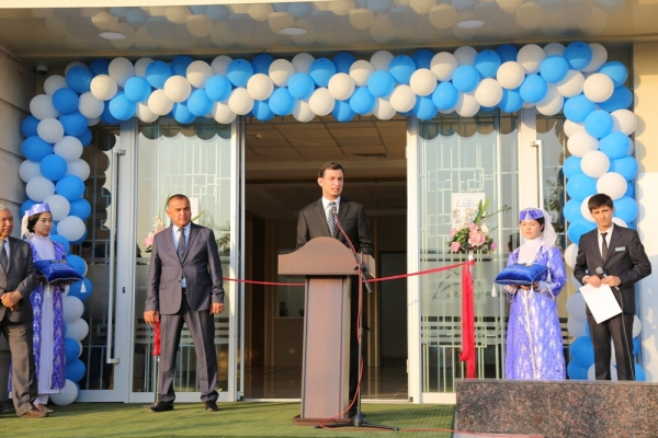 В Джизаке открылся первый частный банк