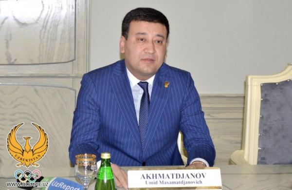 Умид Ахматджанов открыл официальную страницу на Facebook