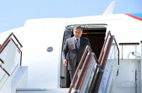 Президент Фарғонага келди