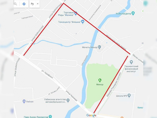 13 июня с 18.00 до 20.00 будут закрыты для автотранспорта несколько столичных улиц