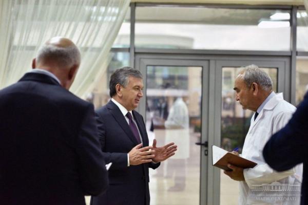 Президент осмотрел психиатрическую клинику, сданную в эксплуатацию после капитального ремонта