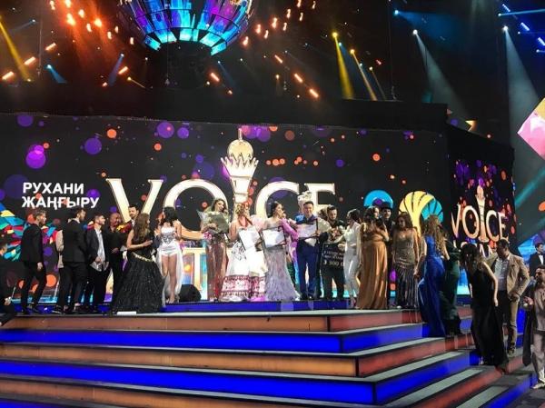 Узбекский певец получил приз зрительских симпатий на конкурсе Voice of Astana