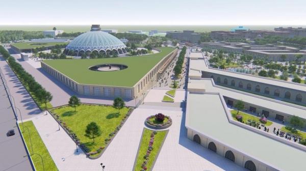 Тотальная реконструкция: столичный хокимият намерен полностью перестроить базар Чорсу (фото)