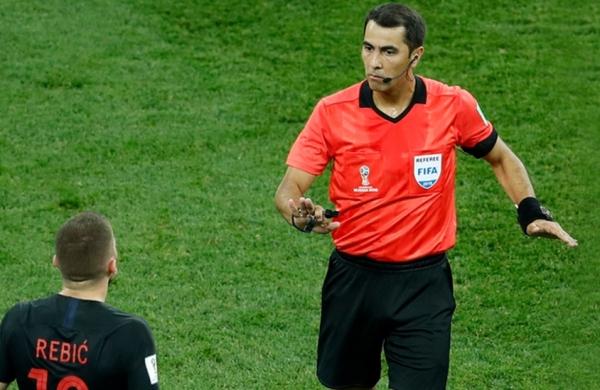 Равшан Ирматов обновил рекорд чемпионатов мира в матче Аргентина – Хорватия