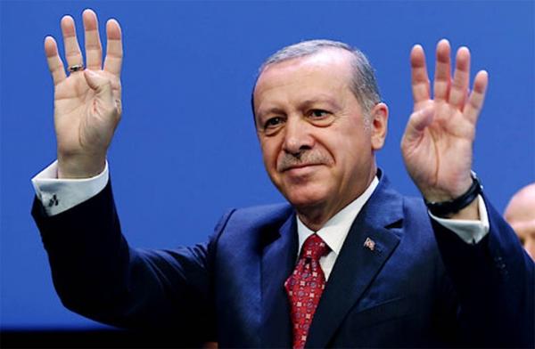 Эрдоған Туркиядаги президентлик сайловида ғалаба қозонди