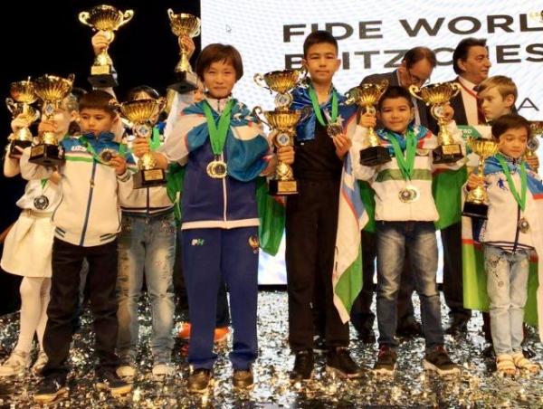 Дети-шахматисты заняли первое место на чемпионате мира в Минске