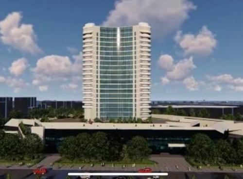 """Ахмет Демир заявил, что здание гостиницы """"Чорсу"""" - самое сейсмостойкое строение во всей стране"""