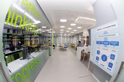 Первый в Центральной Азии: в Ташкенте открылся кластер инноваций и научных исследований (фото)