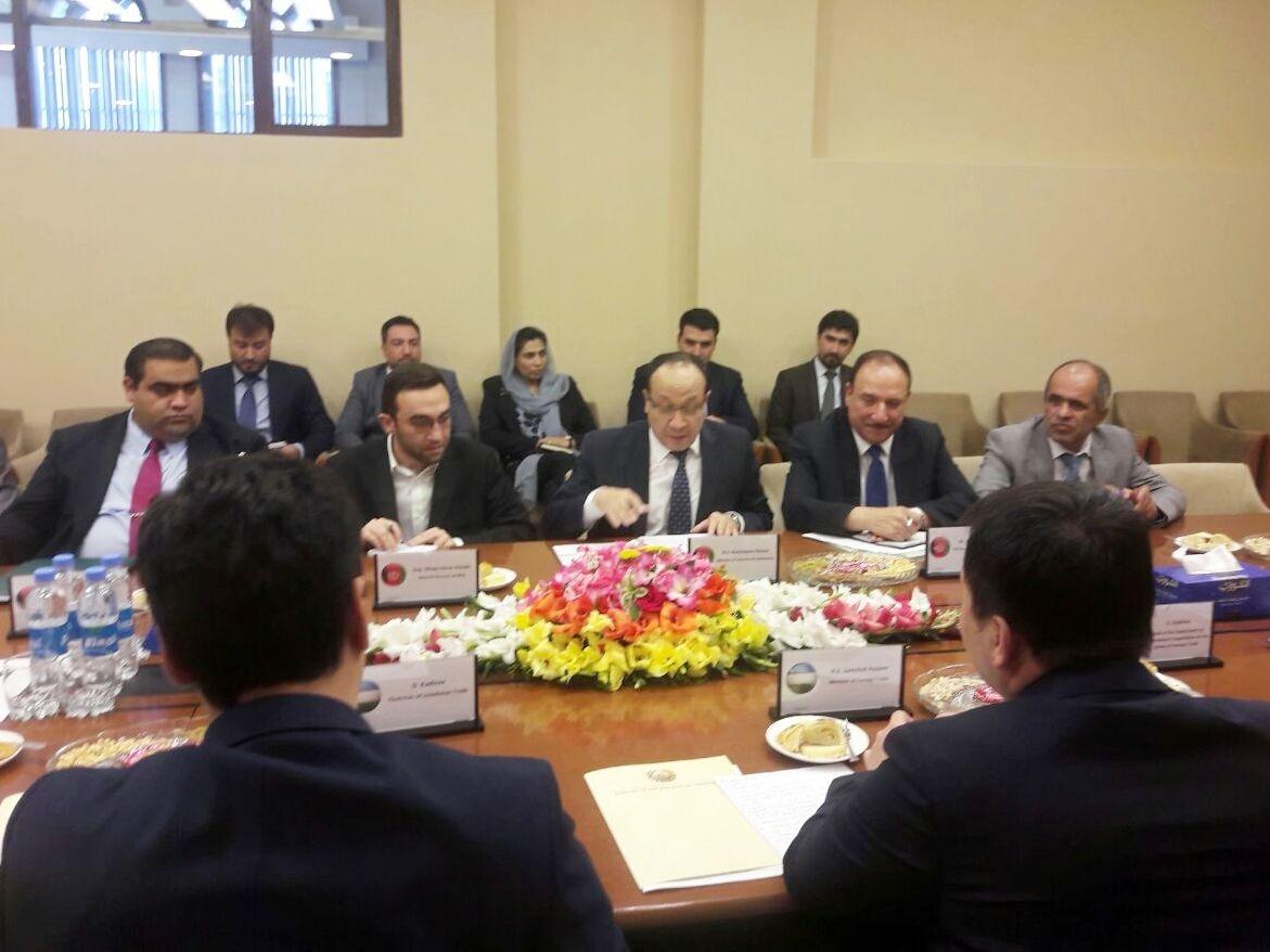 Министр внешней торговли провел переговоры в Афганистане