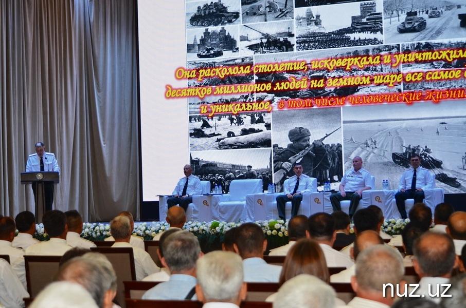 Впервые в истории Советской Армии и Вооружённых Сил Узбекистана отмечается юбилей ТВОКУ, да еще 100-летний
