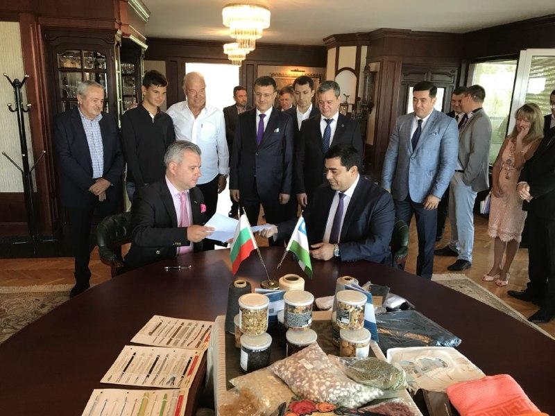 В Софии открылся Узбекско-Болгарский торговый дом