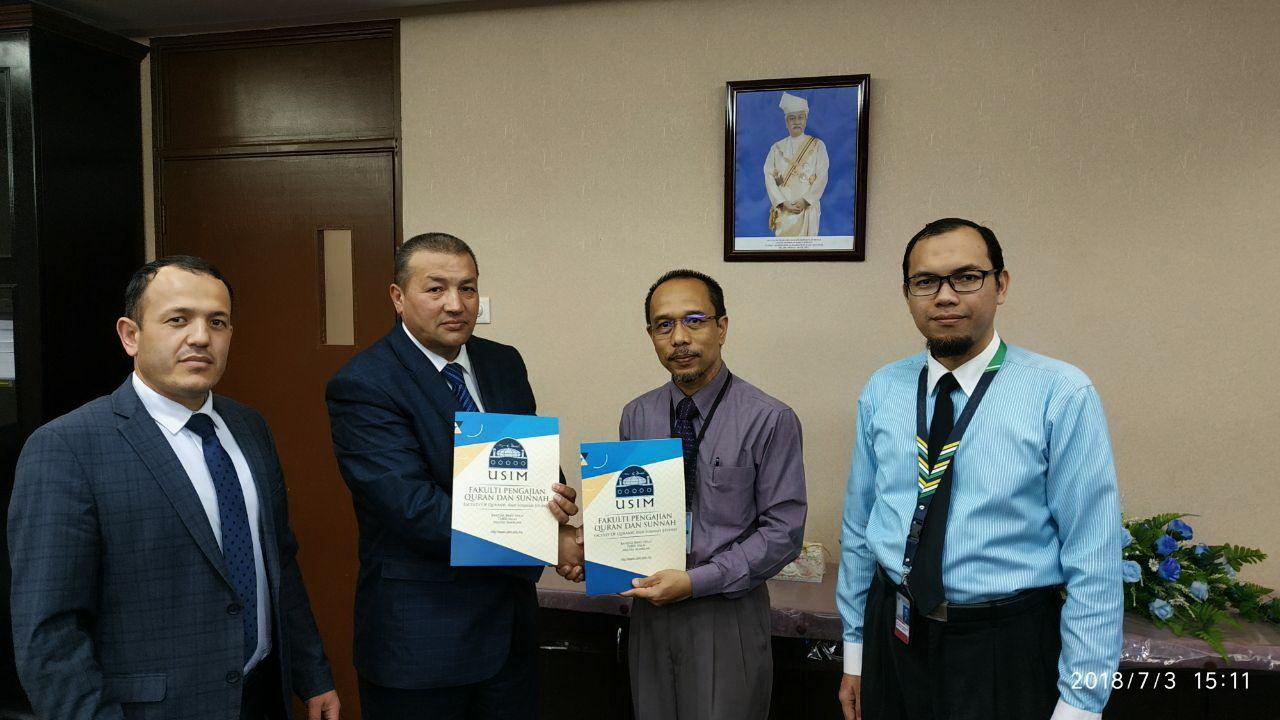 Делегация Центра Имама Бухари нанесла визит в Малайзию