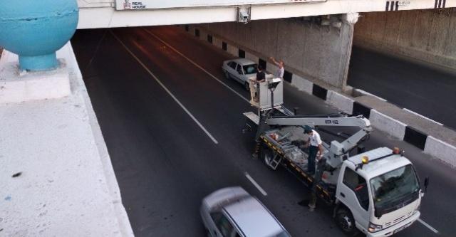 В центре Ташкента установлены радары в тоннеле