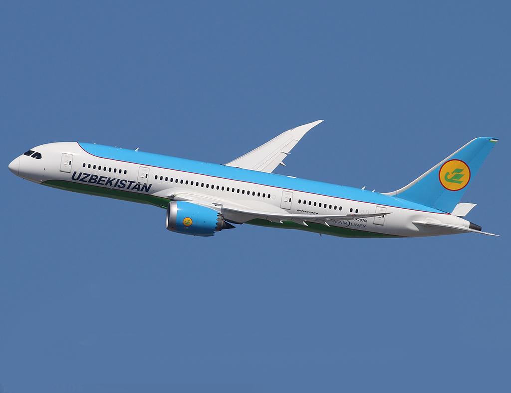 Национальная авиакомпания Узбекистана признана самым пунктуальным авиаперевозчиком