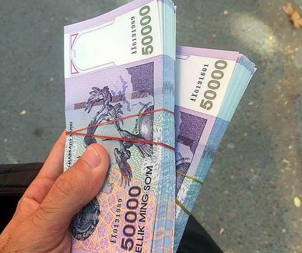 В Узбекистане отмечается небольшое снижение доли наличности в денежных агрегатах