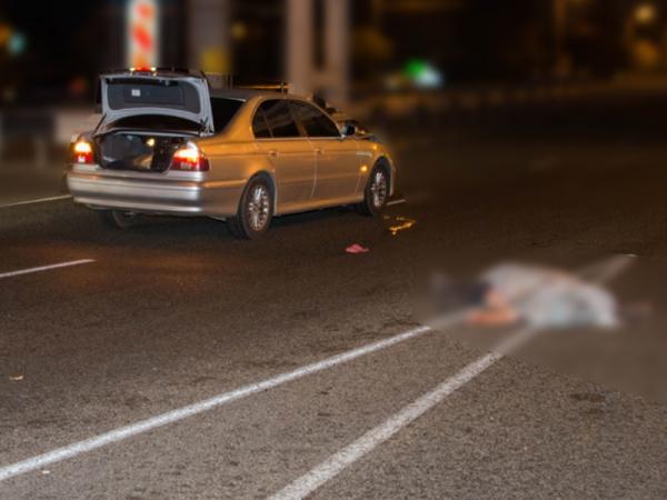 В Юнусабадском районе водитель BMW на пешеходном переходе насмерть сбил пенсионера