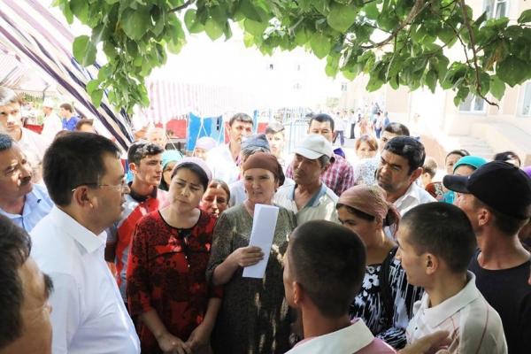 Сурхандарья в печали: люди просят Президента вернуть им прежнего хокима